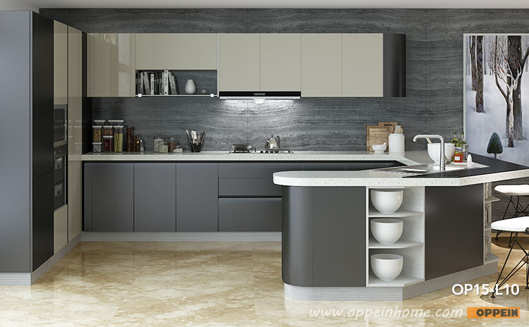 Kitchen Cabinet,High Gloss kitchen,Lacquer Cabinets-oppeinhome.com