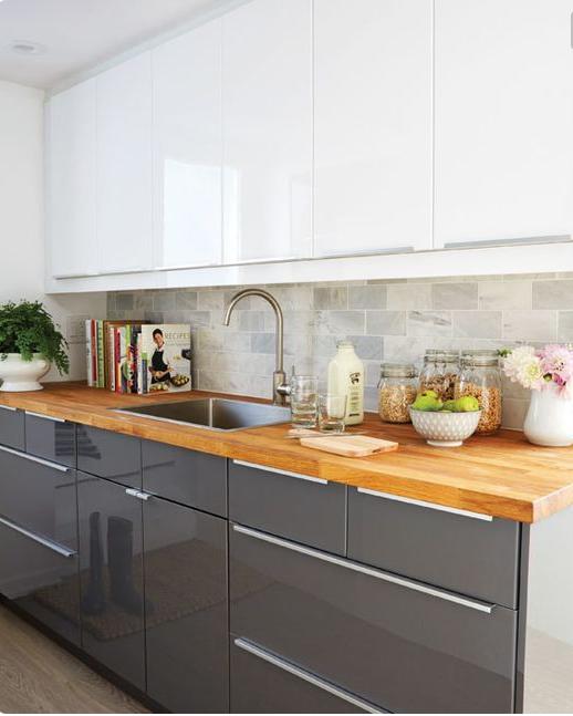 small kitchen | The Smaller Home | Kitchen, Kitchen design, Basement