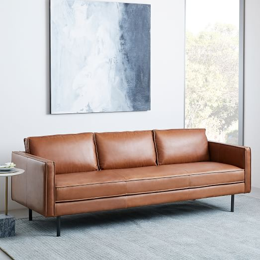 Axel Leather Sofa (89