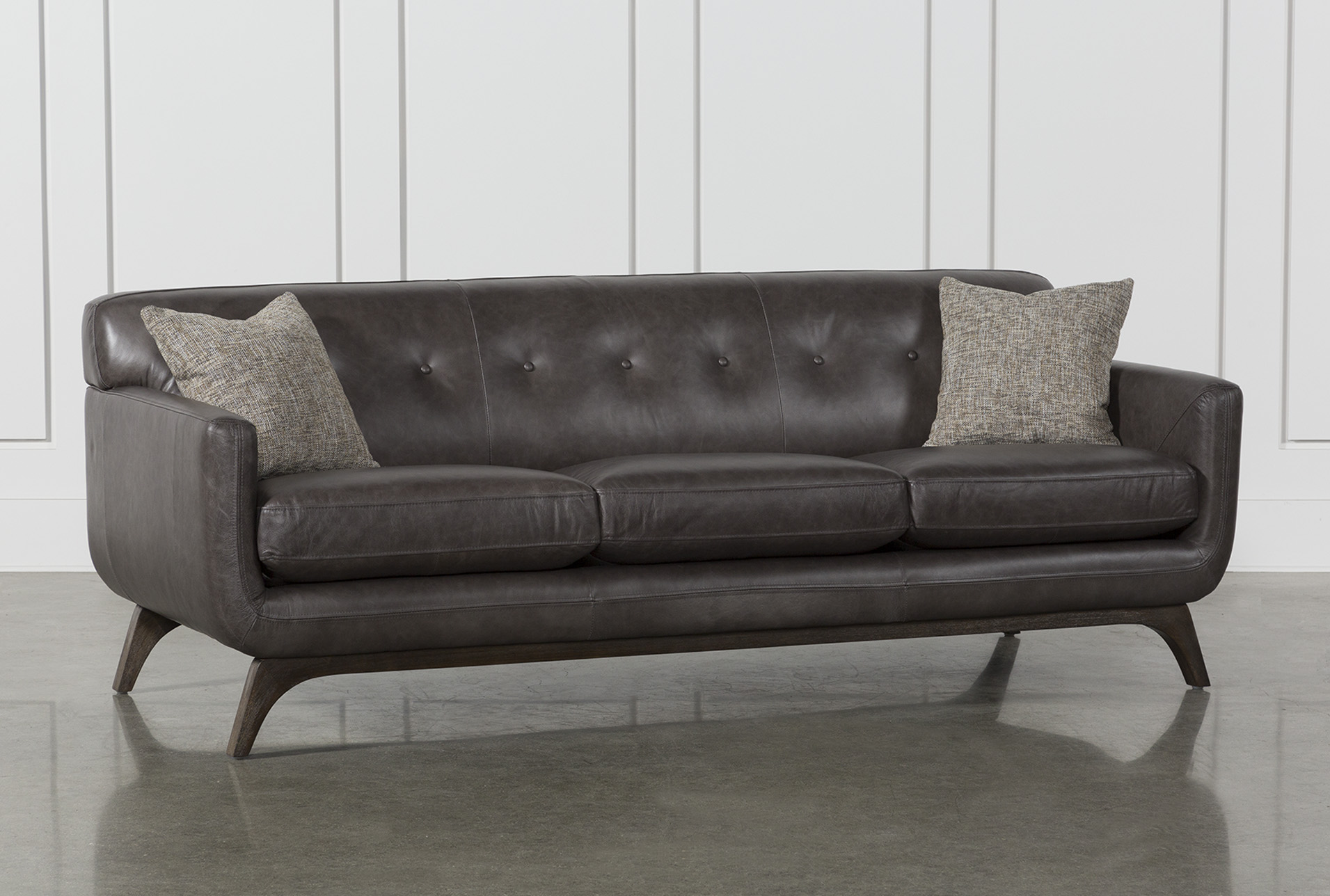 Cosette Leather Sofa | Living Spaces