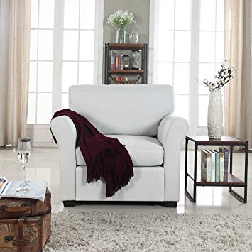 Amazon.com: Classic and Traditional Linen Fabric Accent Chair