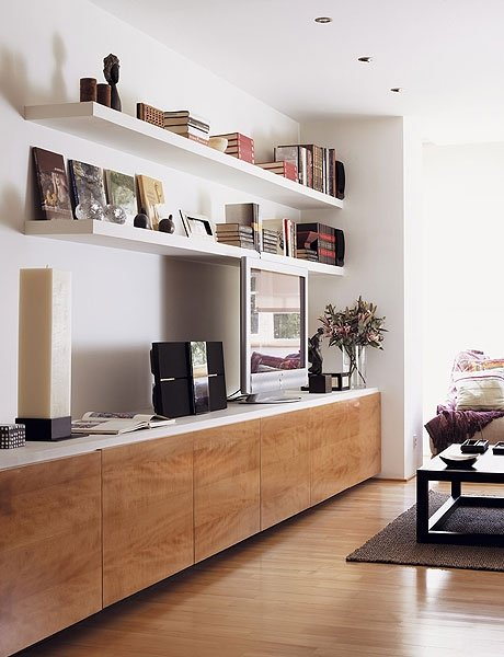 Living Room Shelving Unit - Ideas on Foter
