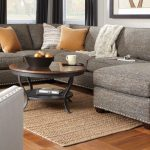 The living room couch as the focal point in the house!