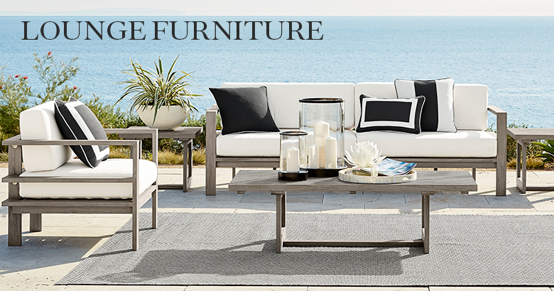 Outdoor Lounge Furniture | Williams Sonoma