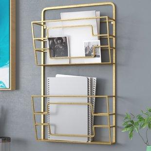 Magazine Holders & Racks You'll Love   Wayfair