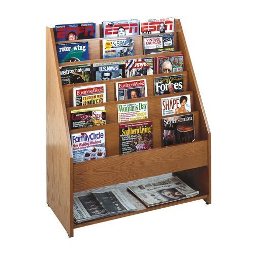 Brodart Full-Panel Magazine Rack