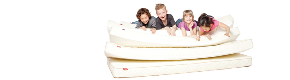 FLEXA Mattresses - OEKO-TEX certified quality kids mattresses - FLEXA
