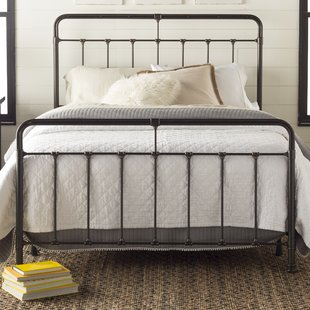Full & Double Metal Beds You'll Love | Wayfair