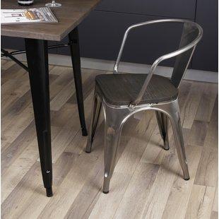 Rustic Metal Chairs | Wayfair