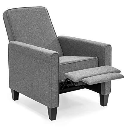 Amazon.com: Best Choice Products Modern Sleek Upholstered Fabric