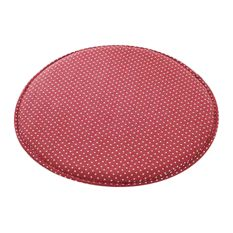 Blancho Bedding - Creative Round Warm Sponge Stool Pad, Red - Seat Cushions