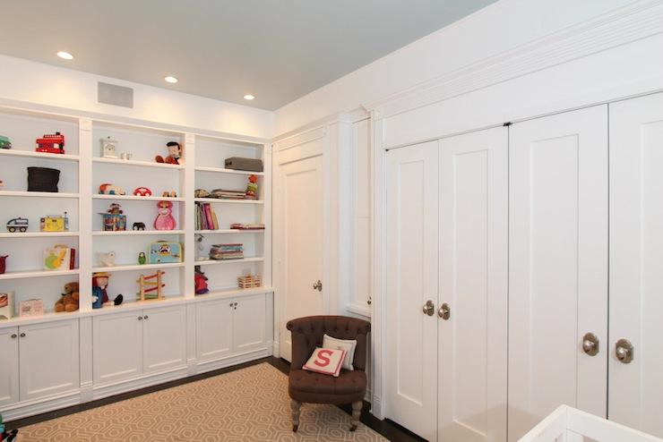 Nursery Built In Cabinets - Contemporary - nursery - Design Build 4U