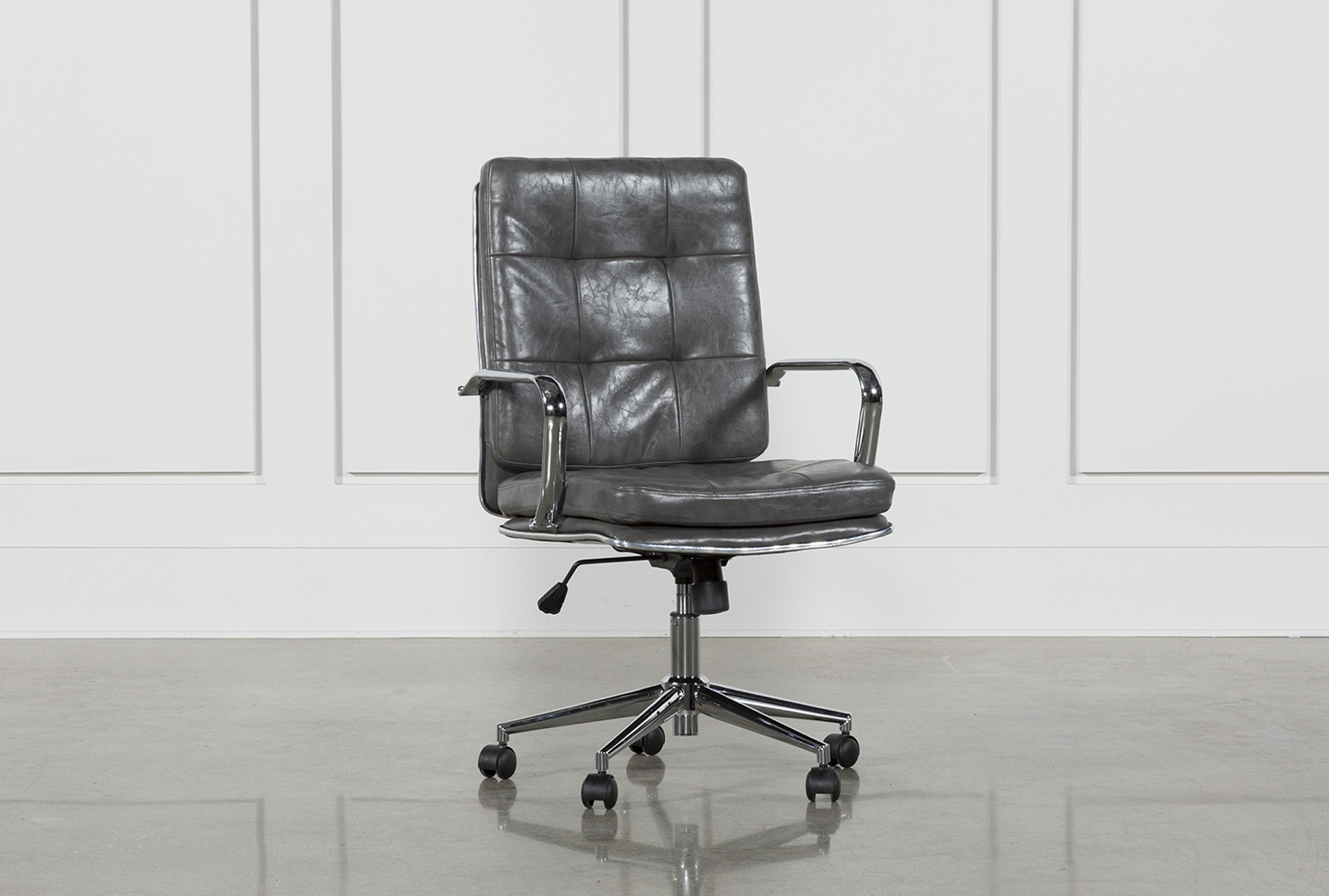 Norton Tufted Office Chair | Living Spaces