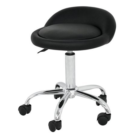 Winston Porter Frankford Rolling Height Adjustable Lab Stool with