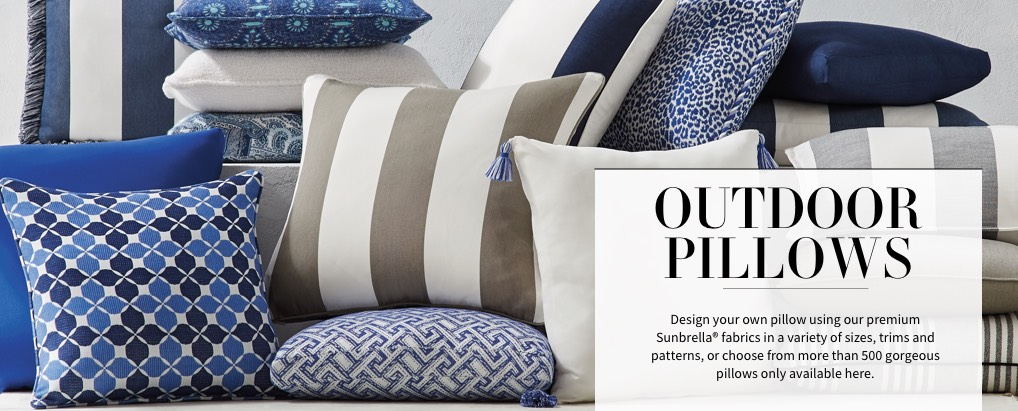 Outdoor Pillows All Weather | Frontgate