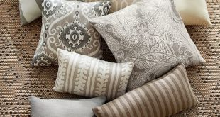 Sunbrella® Jaden Indoor/Outdoor Pillow | Pottery Barn