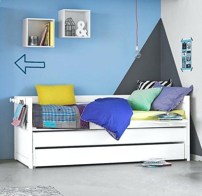 Solid Wood Kids Bed Kids Bedroom Furniture Set Twin Over Twin
