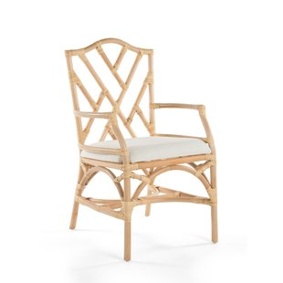Indoor Rattan Armchairs | Wayfair