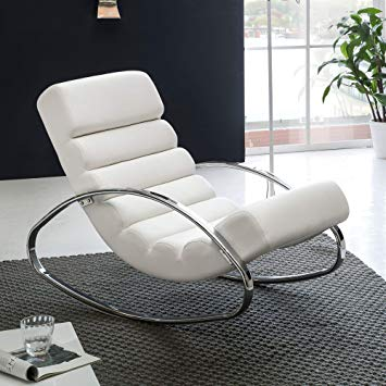 Wohnling Relaxing armchair TV armchair white relaxing chair Design