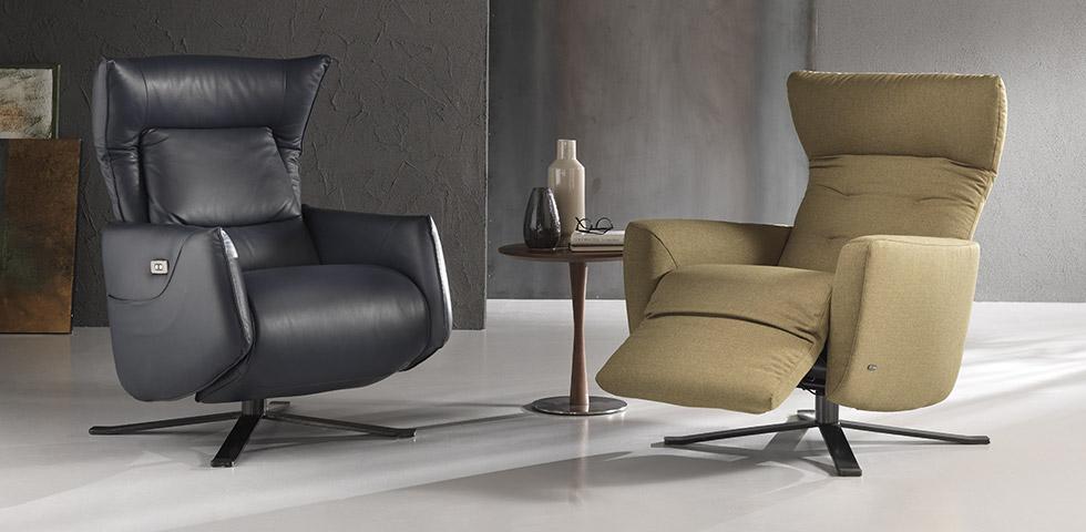 Recliner Easy Relax Chairs | NATUZZI EDITIONS