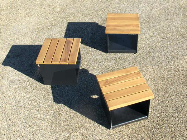 Seating Cubes Elegant Coffee Table With Seating Cubes