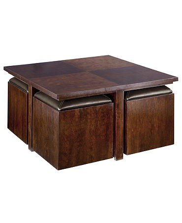 Coffee Table With Seating Cubes - Ideas on Foter