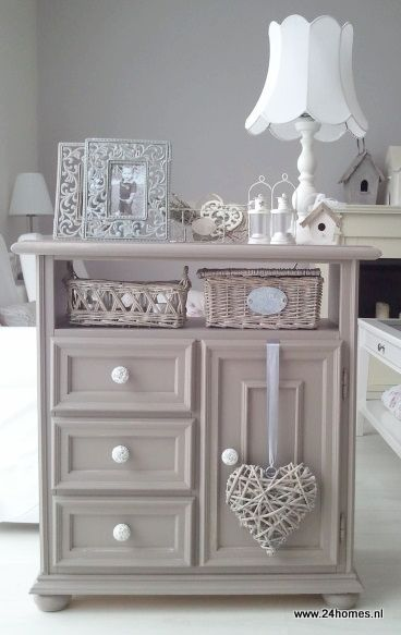 Pastel / Shabby Chic Cabinet - I don't want all the furniture in my