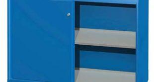Lista DW Sliding Door Shelf Cabinet 1 Adjustable Shelf 1 Bottom