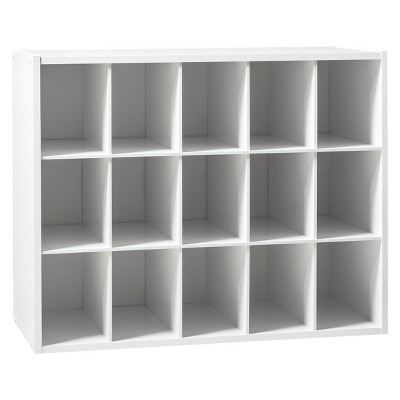 15-Pair Shoe Rack - White - Room Essentials™ : Target