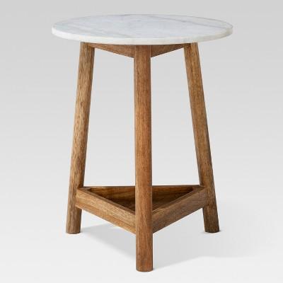 Lanham Marble Top Side Table - Threshold™ : Target