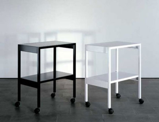 Side tables and trolleys