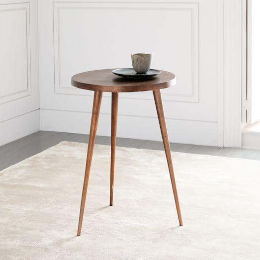 Cast Tripod Side Table   west elm