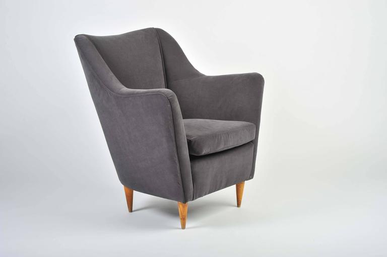 1935-1940 Italian Single Armchair For Sale at 1stdibs