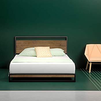 Amazon.com: Zinus Joseph Modern Studio 14 Inch Platforma Bed Frame