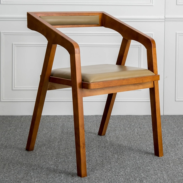 Louis Fashion Nordic Solid Wooden Contracted and Contemporary