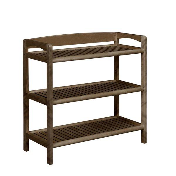 Shop NewRidge Home Abingdon Solid Wood Bookshelf / Media Console