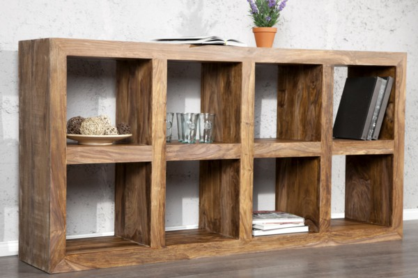 Solid wood shelves: Design by Nature!