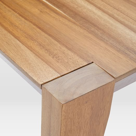 Anderson Solid Wood Dining Table - Caramel | west elm