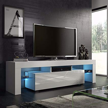 Amazon.com: Homgrace TV stand Modern LED TV Cabinets Home Decorative