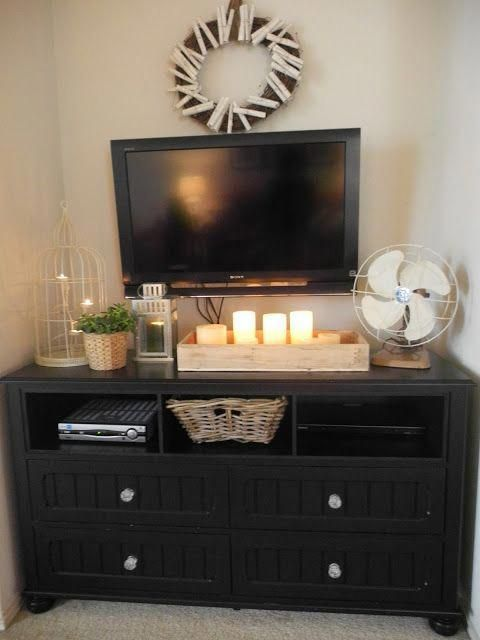 tvstanddiy | u2022 Apartment u2022 in 2019 | Dresser, Bedroom, Diy tv stand