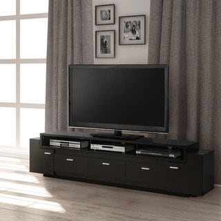 Shop Porch & Den Hubbard 84-inch Tiered TV Stand - On Sale - Free