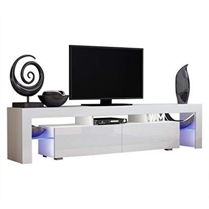 Amazon.com: Concept Muebles TV Stand Milano 200 / Modern LED TV