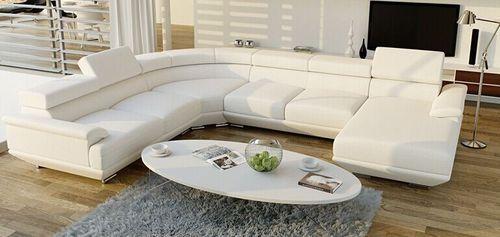 Leather U Shaped Sofa Set, Rs 1024 /set, Vimal Aluminium & Furniture