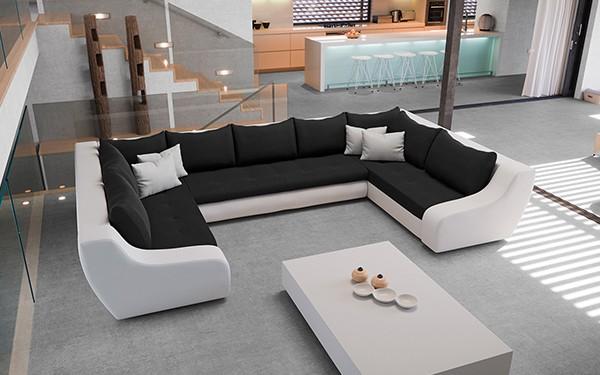 U Shaped Couch Stylish Minerva Sofa Bed Vamosi Milan London With 18