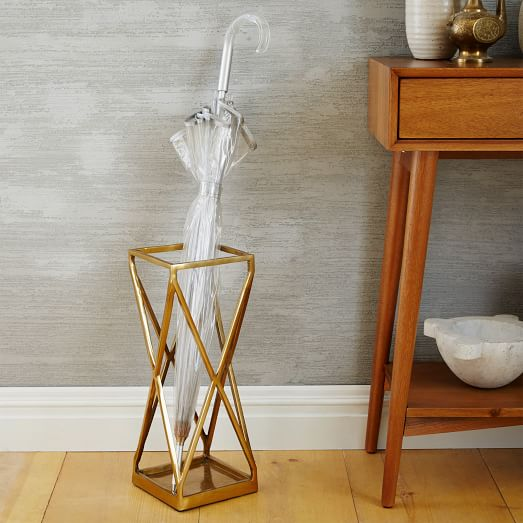 Geo Umbrella Stand | west elm