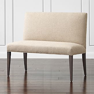 Upholstered Benches | Crate and Barrel