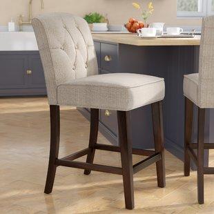Upholstered Bar Stools You'll Love | Wayfair