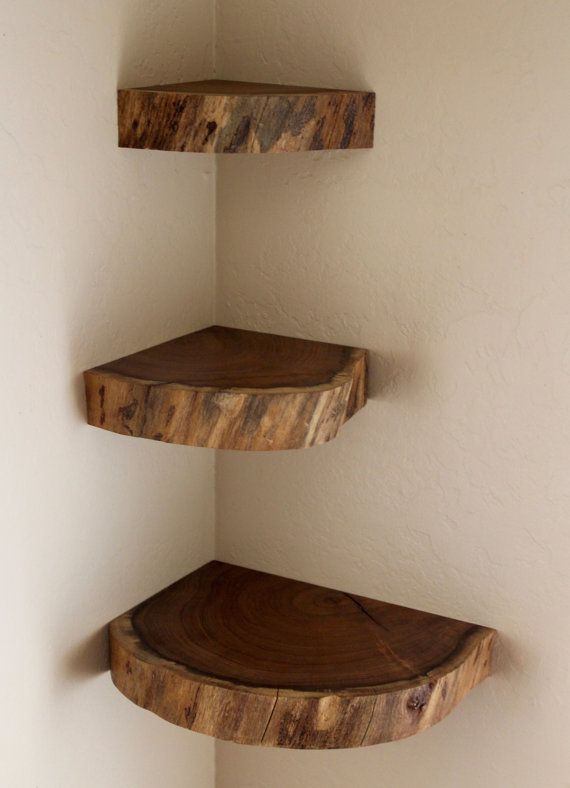 Floating Shelves, Live Edge, Free Shipping (US), Wall Shelves