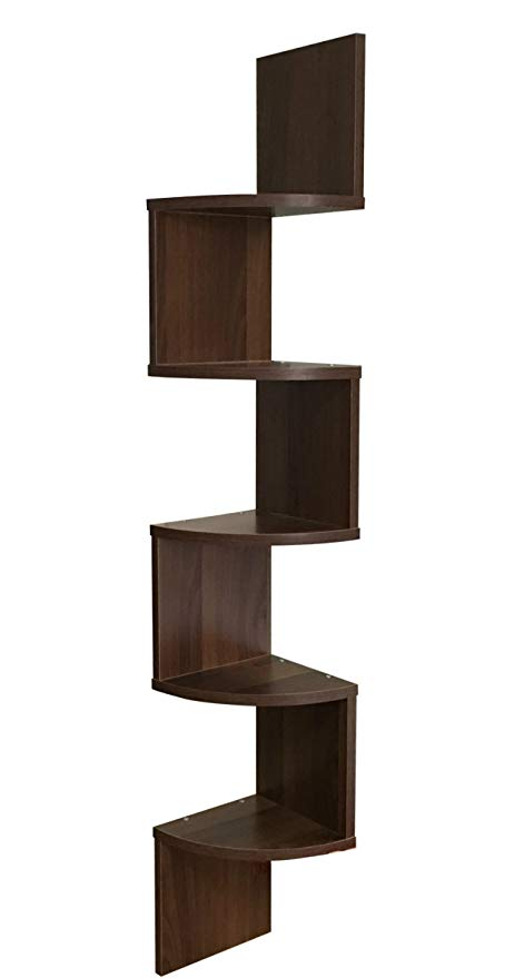 Amazon.com: EWEI'S HomeWares 5-Tier Large Corner Wall Mount Shelf