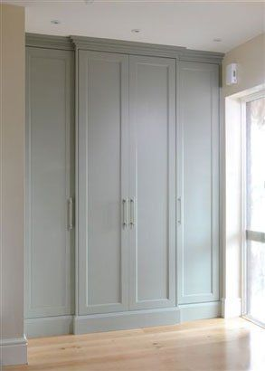 main bedroom wardrobe wall #wardrobes #closet #armoire storage